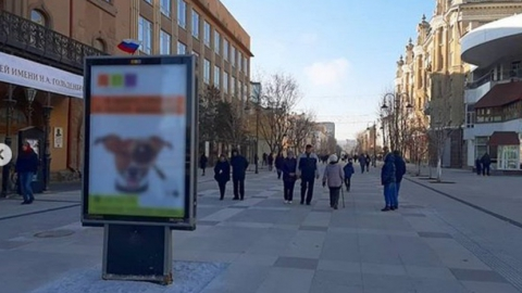 Проспект Кирова в рекламе не нуждается