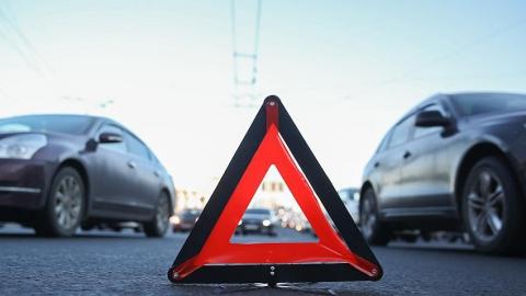 Пенсионер за рулем врезался в иномарку в Ленинском районе