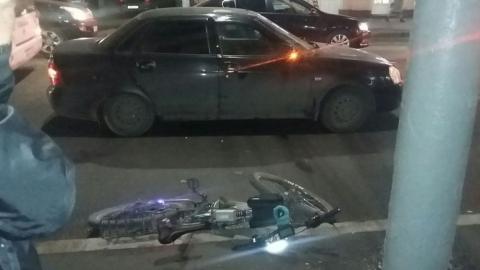 «Приора» сбила велосипедиста-изобретателя в центре Саратова