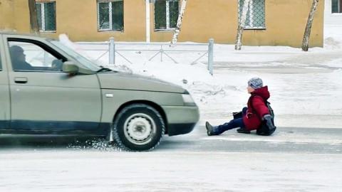 В Балакове женщина за рулем сбила ребенка