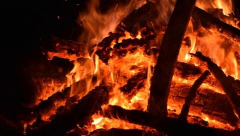 В Балаковском районе пенсионер погиб в огне
