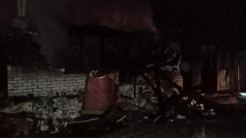 В Турках в огне погибли двое маленьких детей