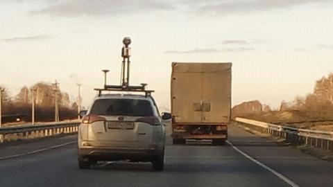 Саратовских автомобилистов напугала машина с камерой на крыше