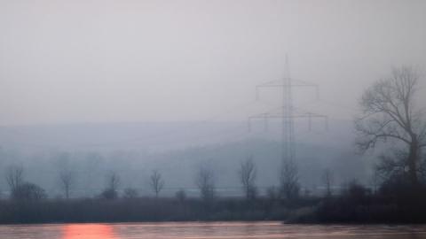 Замерзающий туман покрыл Саратов