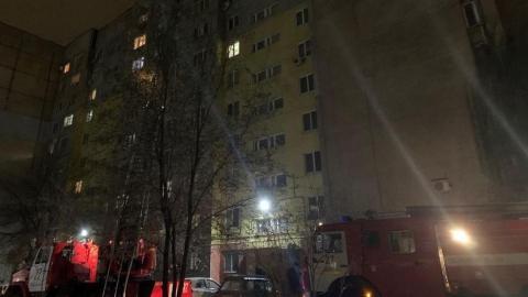 На пожаре в Энгельсе погиб человек