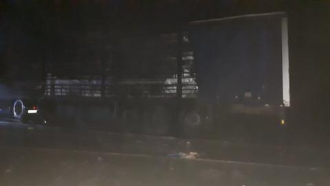 Водитель легковушки погиб в огне после ДТП