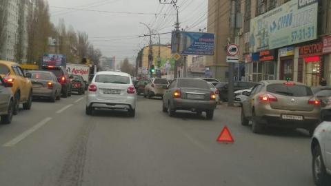ДТП на Чернышевской вызвало огромную пробку