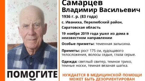 В Саратовской области разыскивают пенсионера в светлом свитере