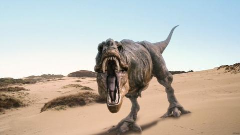 Саратовцев приглашают посмотреть на тираннозавра
