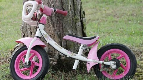 Пожилой мужчина подозревается в краже розового детского велосипеда