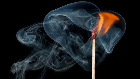 Пенсионерка пострадала на пожаре в Балакове