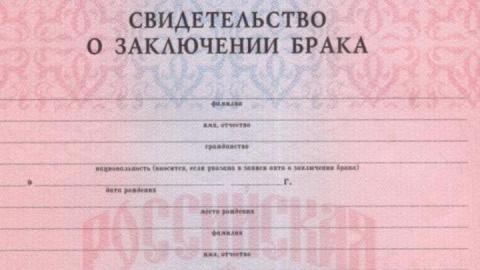 Срок получения документов из ЗАГСа сократился до одного часа