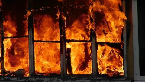 Балаковская квартира сгорела из-за забитого дымохода