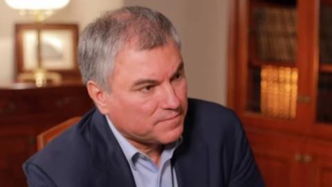 Сегодня Вячеслав Володин работает в Саратовской области