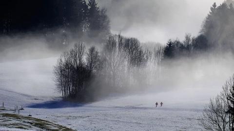 Туман опустился на область