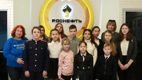 Школьники узнали о работе Саратовского НПЗ в годы войны