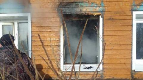 Двое детей пострадали на пожаре в Бессоновке