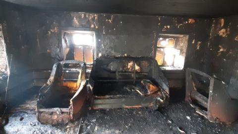 Следователи выясняют обстоятельства пожара, где пострадали дети