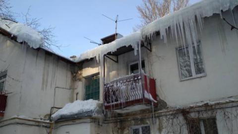 Владельцев балконных козырьков обязали чистить их самостоятельно