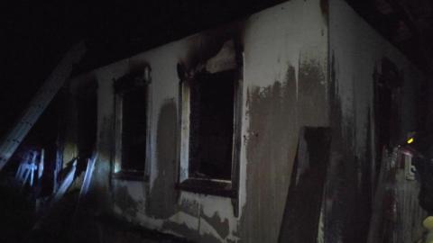 Краснокутский пьяница погиб на пожаре в заброшенном доме