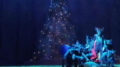 Переезжающий театр даст премьеру «Щелкунчика»