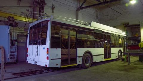 Новые троллейбусы прибыли в Саратов