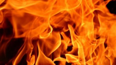 На пожаре в Заводском районе погиб пожилой мужчина