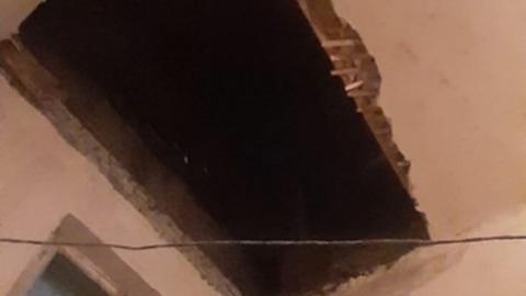 Жители экс-объекта культурного наследия зимуют без крыши над головой