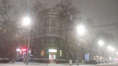 Синоптики обещают теплый зимний вечер