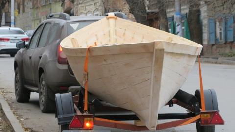 В Саратове представили новый символ города - лодку-гулянку