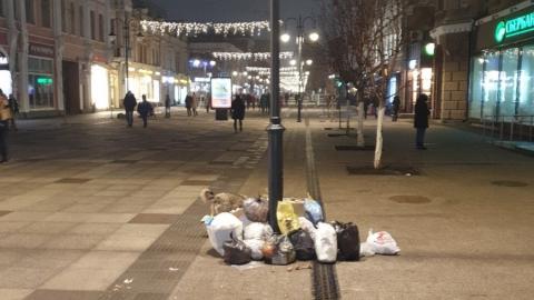 Администрация займется вывозом мусора с проспекта Кирова