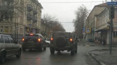 Отключение светофоров угрожает движению в центре Саратова