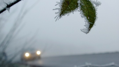 Будьте осторожнее на дорогах: туман и гололед