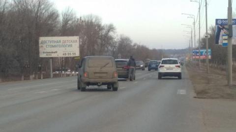 Новая авария в Волжском районе