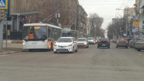 Вниманию жителей: трамваи и троллейбусы дальше не поедут