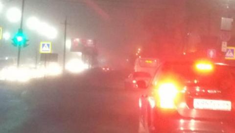 Предупреждение: Саратов накрыл густой туман