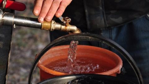 Жители двух районов Саратова остались без воды