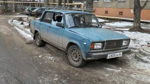 Обнаружена очередная жертва разрушителя авто на Лебедева-Кумача