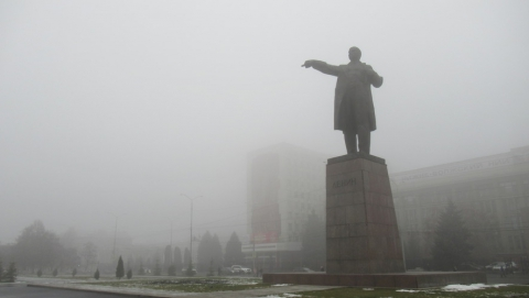 Сильный туман весь день продержится над Саратовом