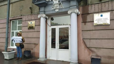 Саратовское «Яблоко» выступило против запрета пикетировать здания органов власти. Видео
