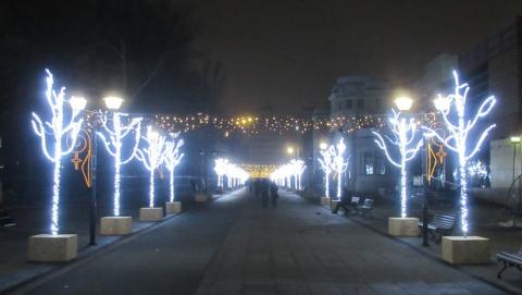 В новогоднюю ночь будет перекрыт центр Саратова