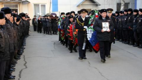 В Саратове простились с лейтенантом полиции Михаилом Гадеевым