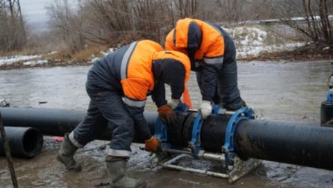 Авария водопровода на Орджоникидзе ликвидирована