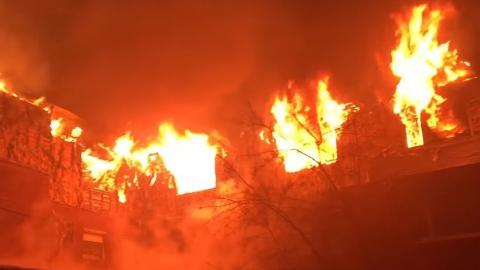 Оставленные без присмотра дети устроили пожар