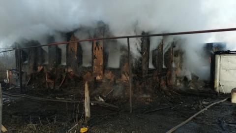 Ребенок погиб на пожаре в Петровском районе