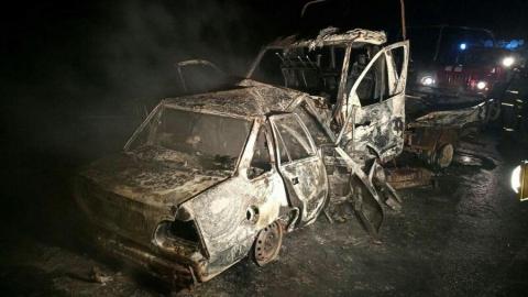 Под Аткарском заживо сгорели три человека