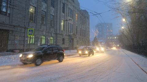 ГИБДД предупреждает о снежных заносах