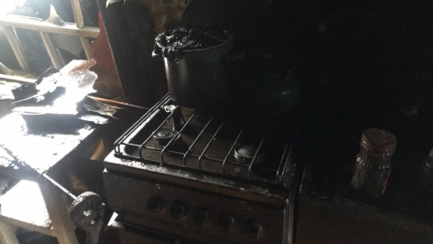 Мужчина погиб на пожаре в Кировском районе