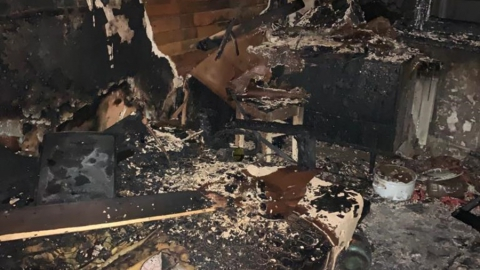 Пожар унес жизни двух мужчин в Федоровском районе