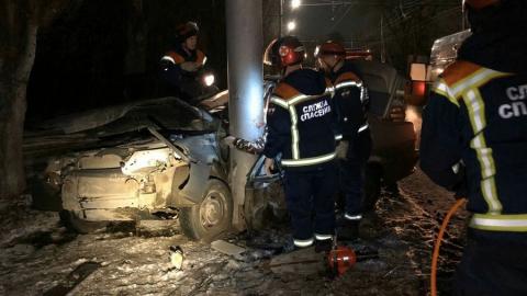Парень на «пятнадцатой» разбился насмерть в Ленинском районе